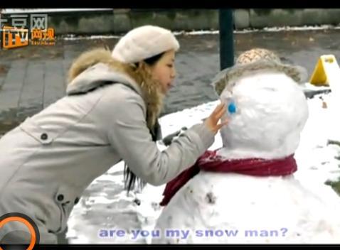 企业有声名片网全体员工红楼演出MV--《雪人》