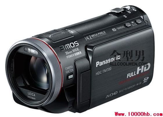 松下SD700 全高清3MOS SD卡式 专业手持DV摄像机 500元/天