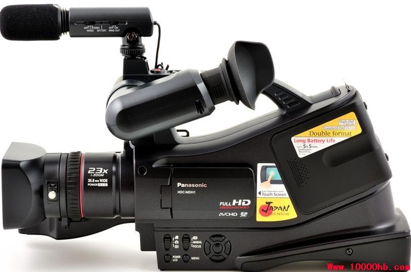 松下MDH1 全高清 存储卡式 专业肩扛摄像机 500元/天