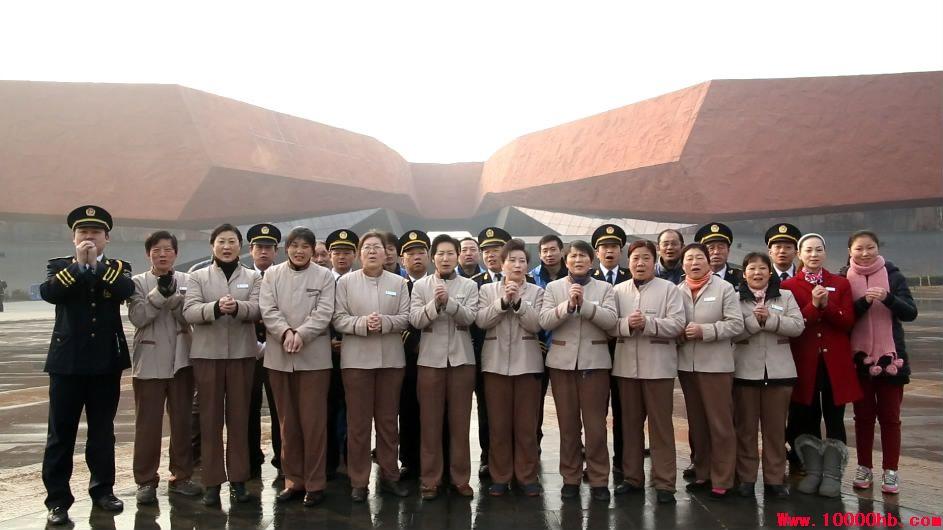 首义广场辛亥革命博物馆2014拜年视频拍摄